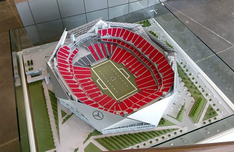 Mercedes Benz Stadium 1