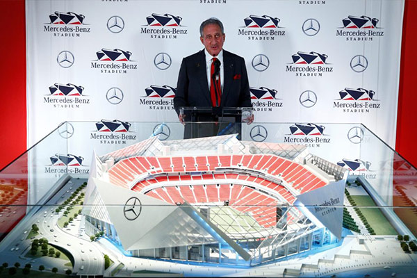 Mercedes Benz Stadium Cover